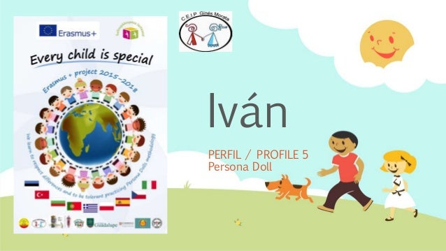 Iván PERFIL / PROFILE 5 Persona Doll