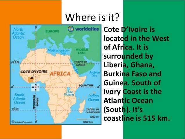 Ivory Coast Africa Geography