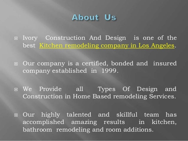 ivory construction and design best kitchen remodeling