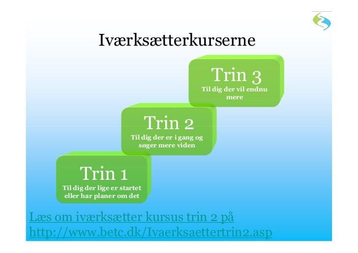 Iværksætterkurserne                                                       Trin 3                                          ...