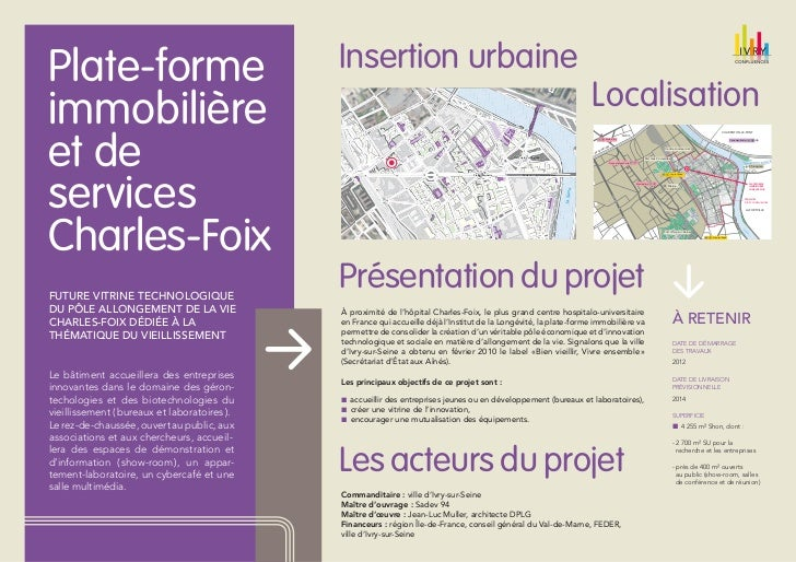 Plate-forme                                   Insertion urbaine                                                           ...
