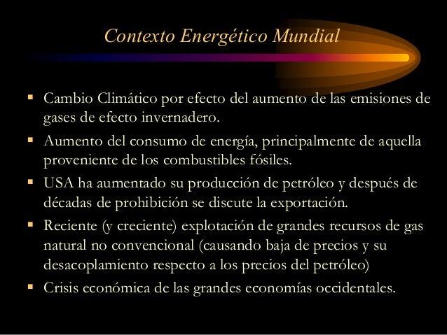 Principales Tendencias Regionales y Mundiales en el Mercado de la Energía Slide 3