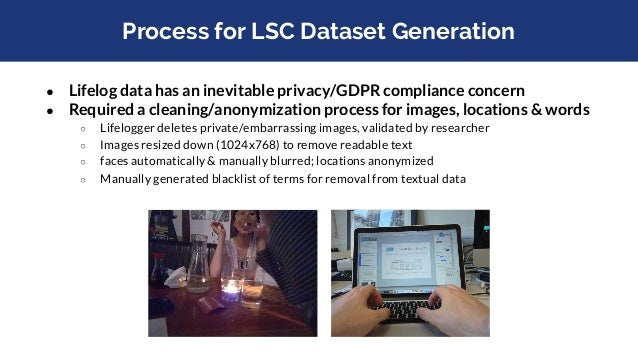 Available Datasets ● Past TRECVID data ○ https://www-nlpir.nist.gov/projects/trecvid/past.data.table.html ○ Different type...