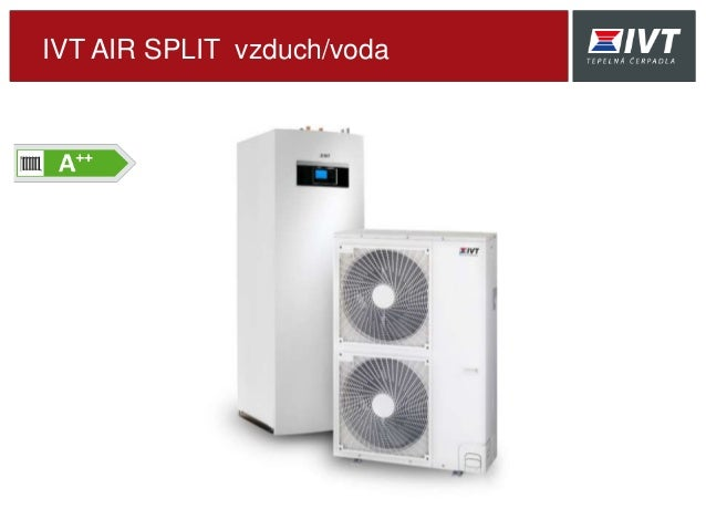 IVT AIR SPLIT vzduch/voda