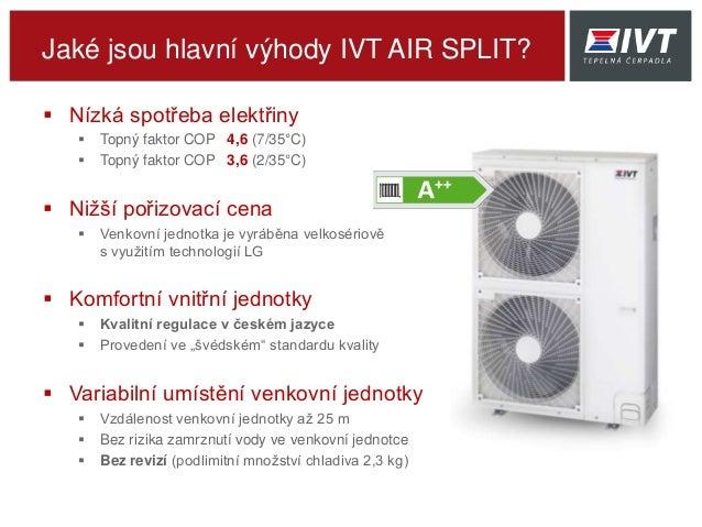 Ivt air split vzduch voda Slide 3