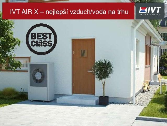IVT AIR X – nejlepší vzduch/voda na trhu