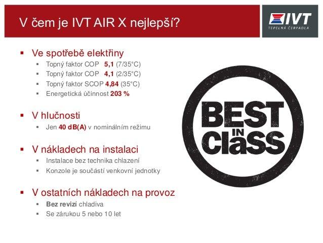 IVT AIR X - tepelné čerpadlo vzduch/voda Slide 3