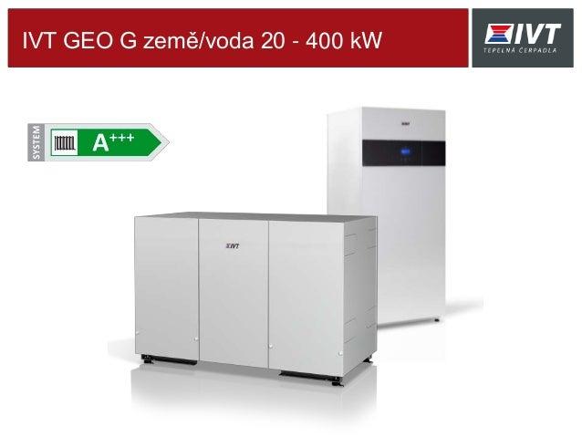 IVT GEO G země/voda 20 - 400 kW