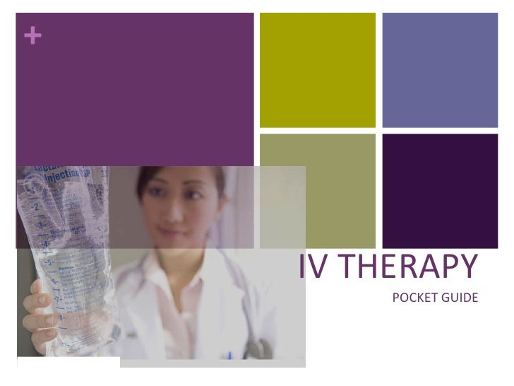 IV THERAPYPOCKET GUIDE<br />