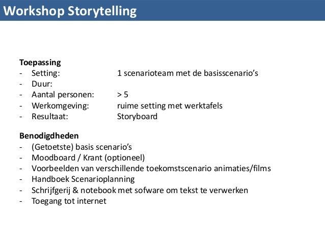Workshop Storytelling Scenario Planning Slide 2