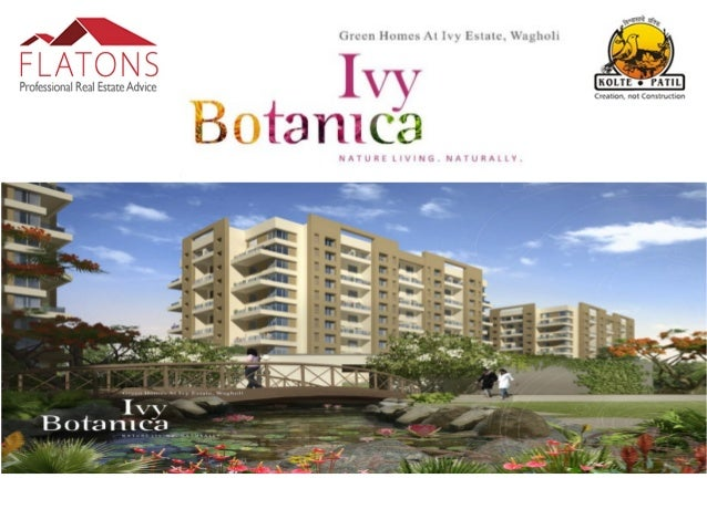 """About Ivy Botanica:- """"Ivy Botanica"""", set within """"Ivy Estate"""", The meticulously planned community living paradise, consist ..."""