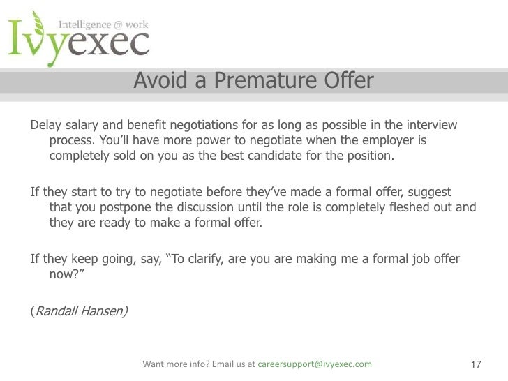 salary offer negotiation