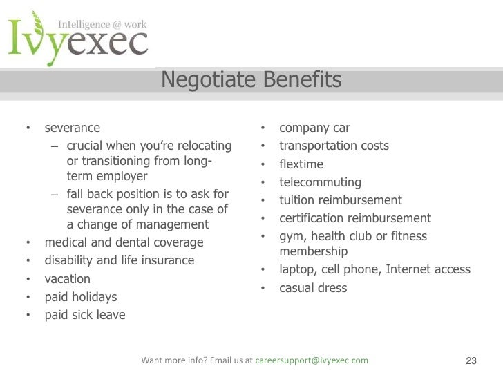 Ivy Exec Webinar: Salary Negotiation Webinar With Sarah Stamboulie