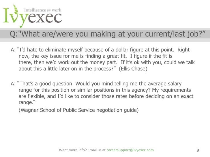 letter of salary negotiation