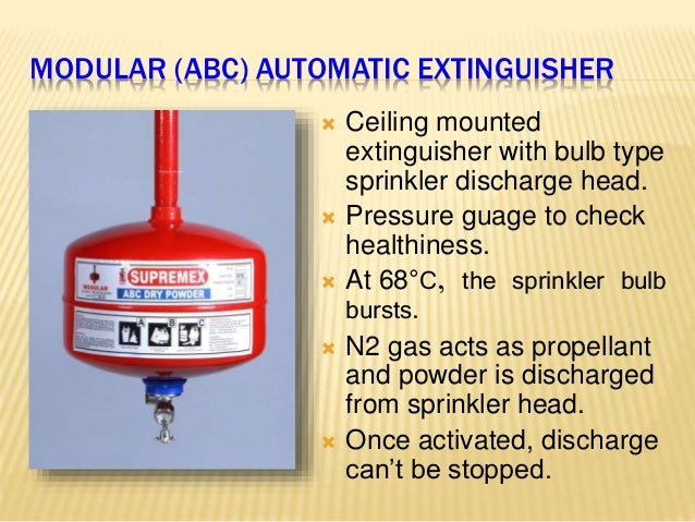 How To Install Ceiling Type Fire Extinguisher Www