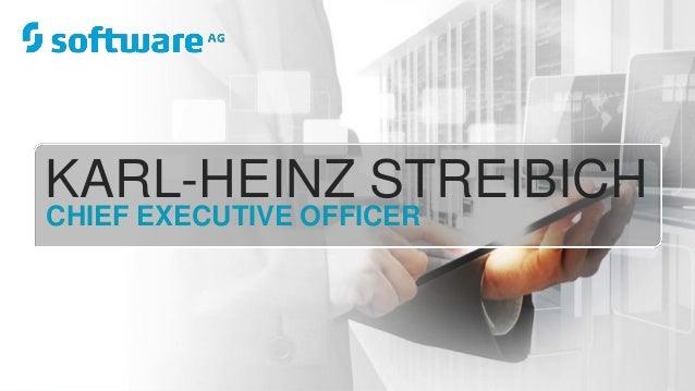 KARL-HEINZ STREIBICH CHIEF EXECUTIVE OFFICER