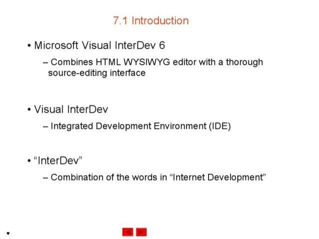 Internet development 07 Slide 2