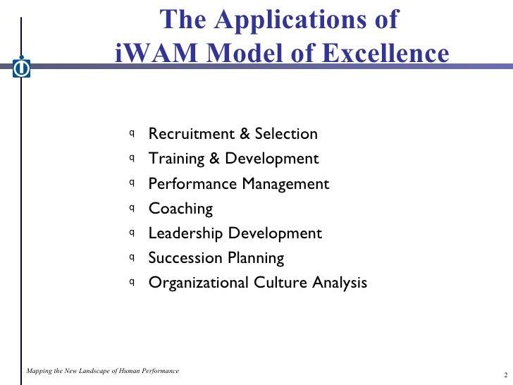 Model of Excellence - Case Studies of Peak Performance Slide 2