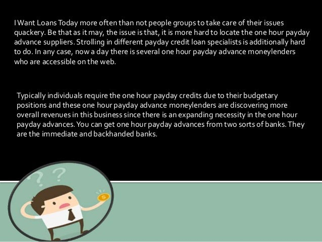 2.  sc 1 st  SlideShare & I want loans today Unsecured Cash Loans at the Door pezcame.com