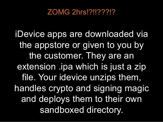 I Want More Ninja – iOS Security Testing