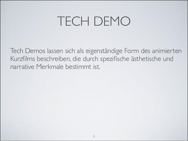 """""""I want to live!"""" Tech Demos für Videospielengines als Animationskurzfilme Slide 3"""