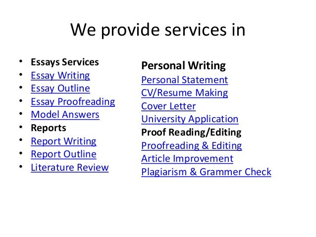 writing services for statistical problems