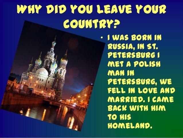 I was born in Russia Slide 3