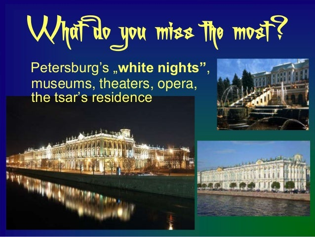 What do you think about coming back            to Russia?                     After so many years                     in P...