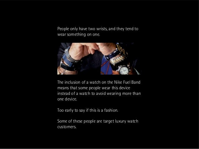 This person can afford a Rolex  Could be an issue for luxury watch makersBut he is on the board of Nike and is making an i...