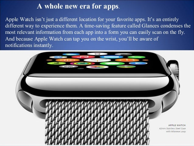 Start on Apple Watch. Continue on iPhone.  Apple Watch is perfect for quick  interactions, but if you need to do  somethin...