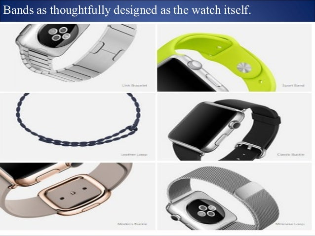 TECHNOLOGY  Digital Crown. A modern twiston a traditional feature.  Every new product we've introduced has  been defined b...