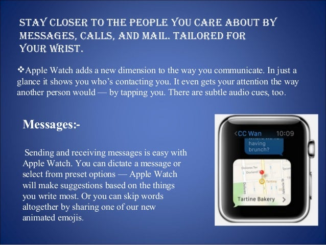 Phone.  Use the built-in speaker and microphone  for quick chats, or seamlessly transfer calls  to your iPhone for longer ...