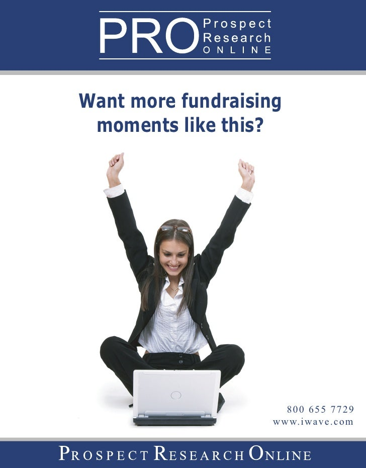 Want more fundraising  moments like this?                           800 655 7729                     www.iwave.com