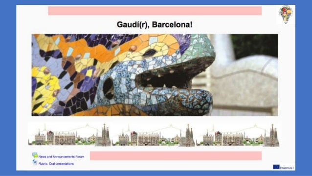 """Integrated Work """"Gaudí(r) Barcelona. Research"""