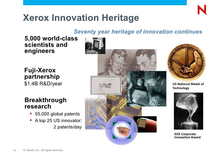 innovation at xerox essay