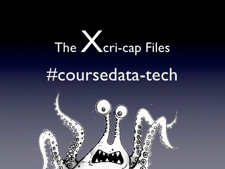 The   Xcri-cap Files#coursedata-tech