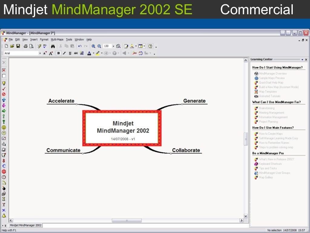 mindmanager 2002