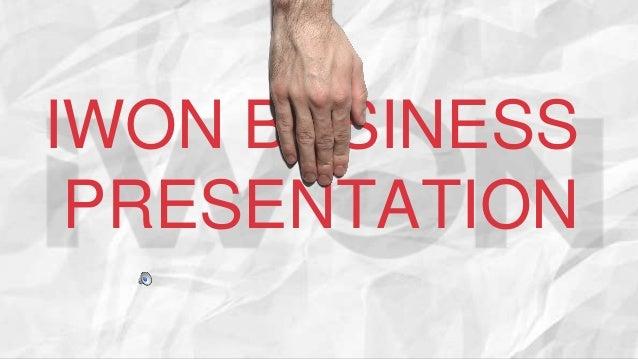 IWON BUSINESS PRESENTATION