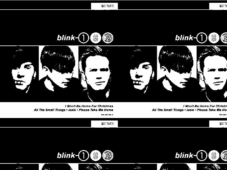 Blink 182 I Won T Be Home For Christmas.I Wont Be Home For Christmas