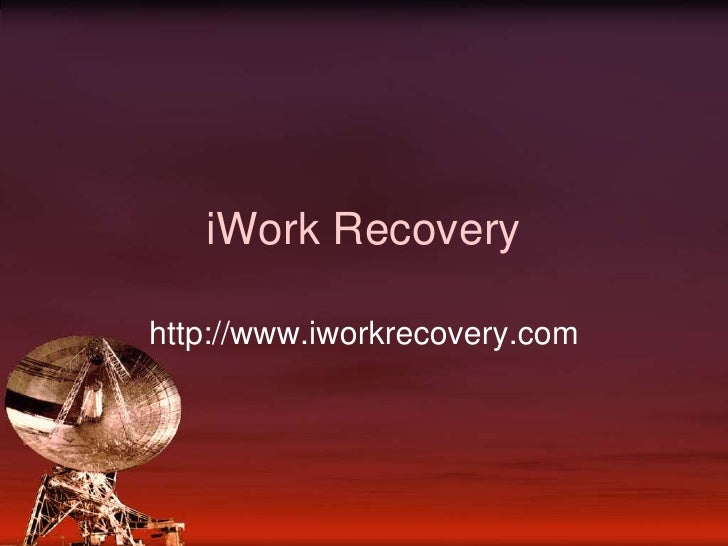 iWork Recovery<br />http://www.iworkrecovery.com<br />