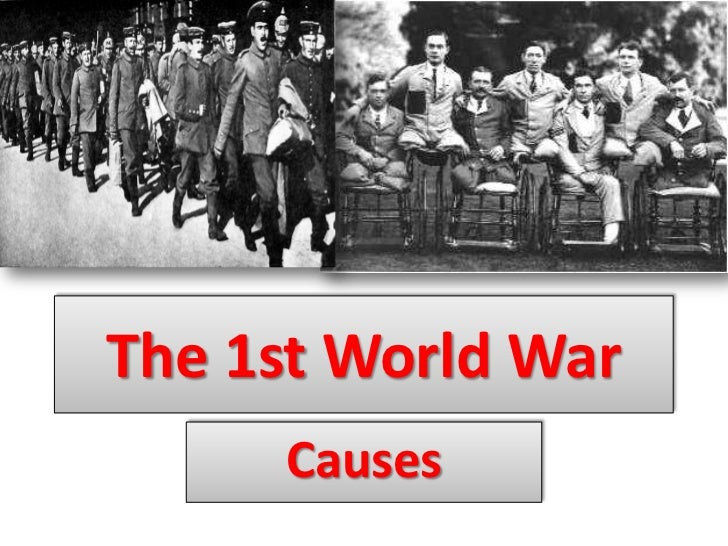 the true cause of world war one The real reason for world war 1 tonyface2007 the 4 m-a-i-n causes of world war one in 6 minutes - duration: world war 1: the fall.