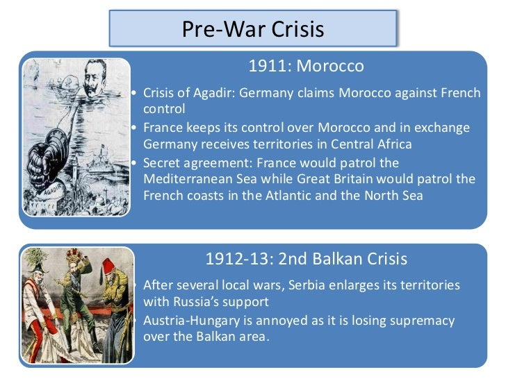 moroccan crisis and assassination at sarajevo essay Causes ww1 crises 1905-14 1 the crises of 1905-1911 (click to go to)(click to go to) the first moroccan crisis, 1905 the bosnian crisis of 1908.