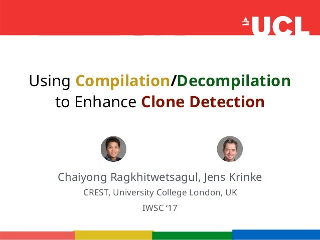 Using Compilation/Decompilation to Enhance Clone Detection