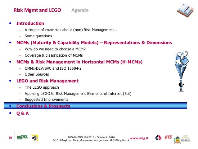 risk and lego Hans læssøe, senior director, strategic risk management at lego group outlines his biggest risks.