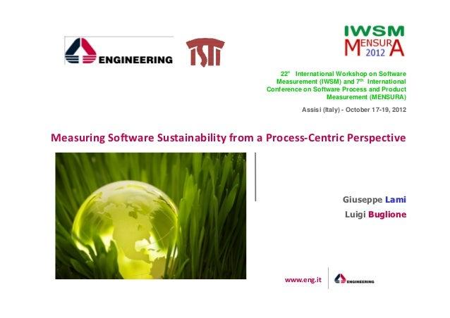 °                                             22° International Workshop on Software                                      ...