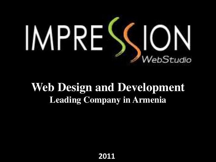 Web Design and Development   Leading Company in Armenia             2011