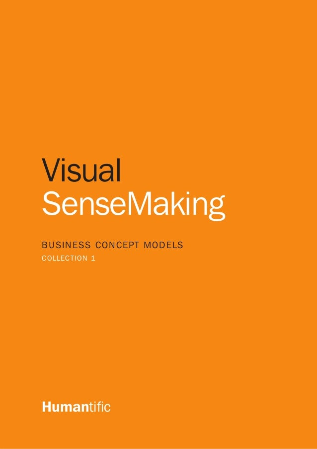 1 Visual SenseMaking BUSINESS CONCEPT MODELS COLLECTION 1 Humantific