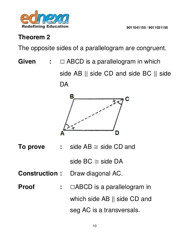 9th maths quadrilateral and its types quadrilateral is 360 9 10 ccuart Gallery