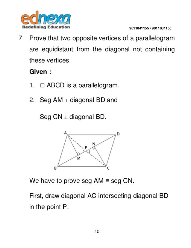 9th maths quadrilateral and its types 41 42 ccuart Gallery