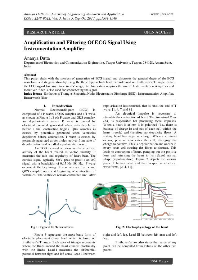 Ananya Dutta Int. Journal of Engineering Research and Application ISSN : 2248-9622, Vol. 3, Issue 5, Sep-Oct 2013, pp.1534...